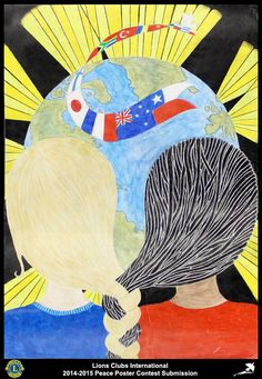 Lions Clubs International Peace Poster Competition submission from Hawera South Taranaki Pakeke Lions Club in New Zealand Lions Clubs International, Peace Poster, Poster Competition, Submissive, Art Lessons, New Zealand, Poster Ideas, Drawings, Dots