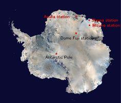 Antarctica Mizuho Base ( みずほ基地 ) Since1970