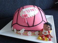 volleybal taart meisje