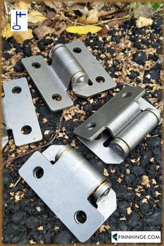 Model 400 for shutters etc, size 67 x 70 mm, made with a 0, 6 or 10 mm offset. Brass bearings on both sides. Made in Finland. Learn about hinge 400 and our other door and gate hardware on our website! #hardware #steel #doors #madeinfinland Gate Hinges, Gate Hardware, Types Of Hinges, Stainless Steel Hinges, Steel Doors, Shutters, Finland, Usb Flash Drive, Industrial