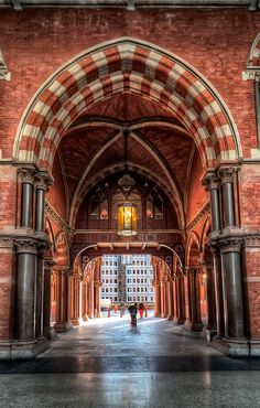 St.Pancras Station ~ London, England