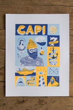 El Capi Universo by Alan Berry Rhys, via Behance
