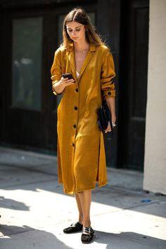 New York Fashion Week - NEW TRENDS - MUSTARD