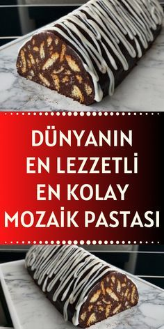 Easy Desserts, Dessert Recipes, Delicious Desserts, Cake Recipes, Pasta Cake, Recipe Mix, Food Platters, Easy Family Meals, Turkish Recipes