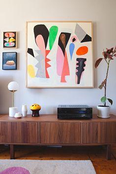 Kristina & Jason's Gorgeous, Graphic Australian Home — House Tour