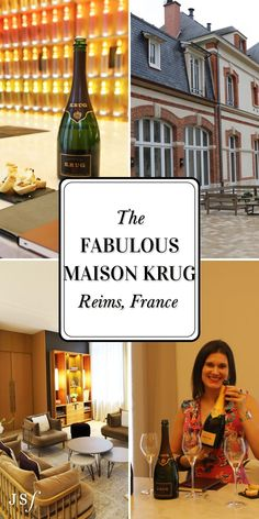 Dreaming of Reims? This beautiful region has exceptional wines with an equally stunning scenery. Check out my blog to see The Fabulous Krug Cellar Tour & Tasting in Reims, France. West Coast Cities, Famous Wines, New West, Best Dining, Best Cities, Cellar, Day Trip, Luxury Travel, Wine Recipes