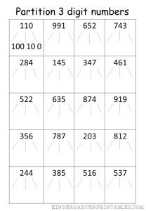 math worksheet : 1000 images about number worksheets on pinterest  addition  : Maths Partitioning Worksheets