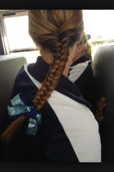 69 Ideas For Sport Hairstyles Volleyball Easy Athletic Hairstyles, Volleyball Hairstyles, Sporty Hairstyles, Weave Hairstyles, Pretty Hairstyles, Hairstyles Videos, Hairdos, Wedding Hairstyles, Workout Hairstyles