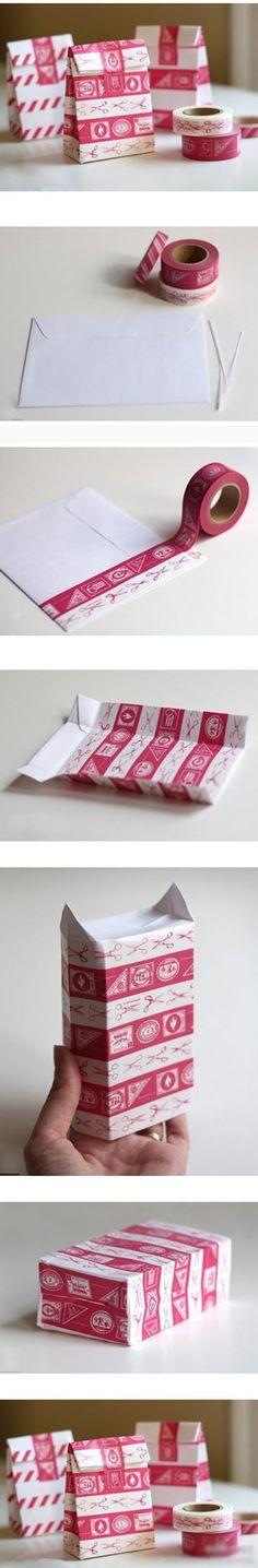 Tüten aus Briefumschlägen