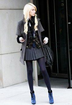 画像 : ゴシップガールの「ジェニー・ハンフリー」甘辛ファッション集 - NAVER まとめ