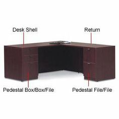 Reversible 48 Inch Return In Mahogany - Executive Modular Furniture by GLOBAL INDUSTRIES OTG. $133.95. EXECUTIVE MODULAR FURNITURE COLLECTION Reversible Return Create your own contemporary office work space. Helps create L and U shaped desk stations. Durable laminate construction features matched edging design for attractive finish. Features cable management grommets and a full length modesty panel. Add Pedestals, Center Drawer and Keyboard Trays for added work and s...