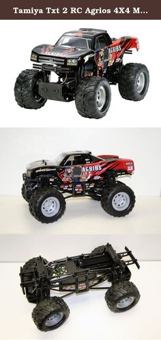 "Tamiya Txt 2 RC Agrios 4X4 Monster Truck. Tamiya ventured into the modeling business in 1948, with a scale wooden ship model kit. Since then, Tamiya has been striving to offer merchandise that can truly be called ""First in Quality Around the World."" Now Tamiya is offering more than 300 different products, both in the fields of precision static models and high performance radio control vehicles. These products are not only sold in Japan but also exported in vast quantities to the United..."