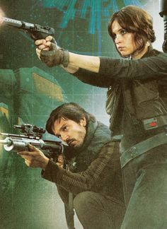 I am COSPLAYING as Jyn. I HAVE TO. I'm getting my hair cut short and everything (been growing it out for a long time, see)!