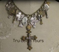 Now or Never  Vintage Gypsy Boho Spiritual Crystal by tomrass4, $79.00