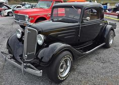 https://flic.kr/s/aHsknkxXUV   1935 Chevy Coupe   Awesome Build with AC disc brakes. All steel except rear fenders! This is a daily driven rod