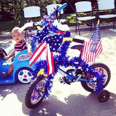 fourth of july bike parade - Google Search