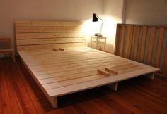 Plan pour fabriquer un lit plateforme                                                                                                                                                      Plus