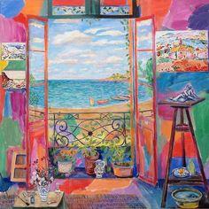 Matisse´s Studio, Collioure, second window , Damian Elwes