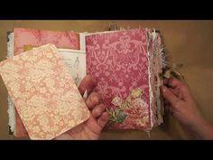 Junk Journal for Debra. - YouTube
