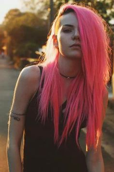 , … Related posts: Cool Short Blonde Hairstyle Ideas For … Blue and electric green ombre dyed alternative hair Seamless Hair Extensions Balayage Ombre Tape In Hair Color Adhesive Remy … Wax / Oil Removal Deep Cleanse Mohawk Hairstyles For Women, Popular Short Hairstyles, Diy Hairstyles, Hairstyle Ideas, Long Shaved Hairstyles, Chica Punk, Pelo Multicolor, Scene Hair, Pink Hair