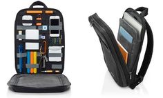 GRID-IT Organization Laptop SLIM Backpack By Cocoon  http://coolpile.com/gear-magazine/cocoon-slim-laptop-backpack-with-grid-it-gear-organization-system/  via CoolPile.com - $79 -  Apple.com, Backpacks, Bags, Cocoon, Cocoon Grid-It, Cool, Gifts For Her, Gifts For Him, Laptop Bags, MacBook, Waterproof