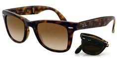 Sunglasses - Ray Ban RB4105 Folding Wayfarer