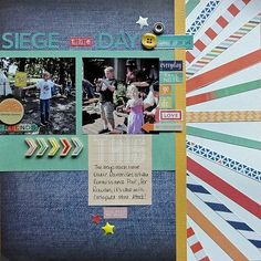 Using up thin patterned paper strips