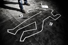 Murderer Back On The Crime Scene Photograph by Ilbusca