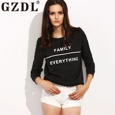 35c549d482d Designer Plus Size Clothing. Winter BlousesShort Women FashionWhite  LettersBlack BlouseParty TopsLadies PartyAutumn StyleShirt ...