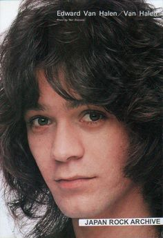 Eddie in teen mag 80s Music, Rock Music, Beatles, Eddy Van Halen, Wolfgang Van Halen, Rock And Roll Fantasy, Valerie Bertinelli, Just Beautiful Men, Best Guitarist