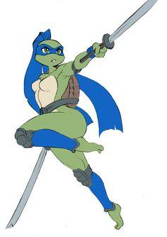 Gender Bent Ninja Turtles | www.ohmz.net