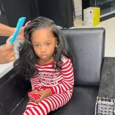 Cute Little Girl Hairstyles, Black Kids Hairstyles, Black Girl Braided Hairstyles, Cute Little Girls Outfits, Baby Girl Hairstyles, Black Girl Braids, Braids For Black Hair, Cute Hairstyles, Hair Ponytail Styles