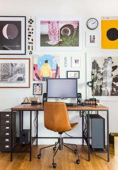dorm desk chair elegant sara s fice reveal emily henderson deco Dorm Desk, Desk Styling, Desk Pad, Desk Chair, Home Improvement Projects, Decoration, Living Room, Interior Design, Furniture