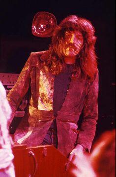 Jon Lord, Hammond Organ, David Coverdale, Tina Turner, Deep Purple, Gorgeous Men, Leather Jacket, Black, Fashion