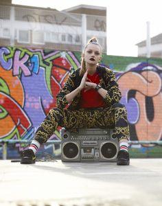"hip hop- overall ""look"""