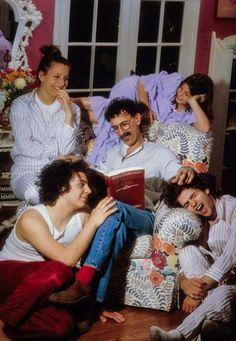 Frank Zappa Family man!