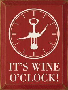 wine'o clock