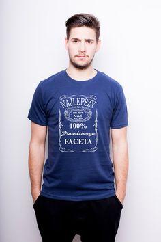 Koszulka Męska Najlepszy Facet  w TailorMade24 na DaWanda.com