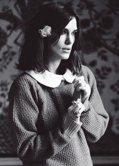 keiranatalie:  Keira Knightley photographed for Rika Magazine (2013)