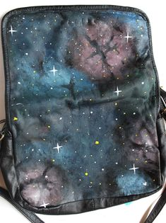 galaxy painting tutorial... you can put this shit on aeverything!