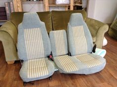 For quality caravan and motorhome upholstery carried out by a local, family run business - read on to see examples of jobs carried out. Contact us today. Car Upholstery, Motorhome, Caravan, Floor Chair, Throw Pillows, Bed, Projects, Inspiration, Furniture