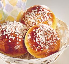 Finnish Pulla.  Just discovered this wonderful treat this weekend when friends made it, so tasty!
