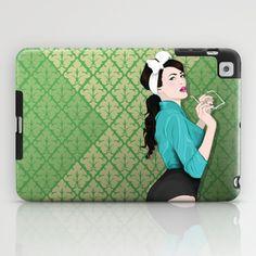 Green Vintage iPad Case