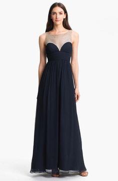 Sweetheart Chiffon Gown