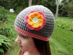 Flower Hat- for Morgan