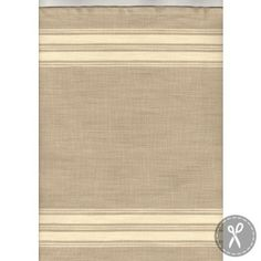 Toweling Panier De Fleur - Flax