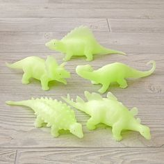 Shop Glow In The Dark Dinosaur.  Dinosaurs once walked the earth.  Did you also know that they also used to glow in the dark? And they were available in a variety of styles? (We're basing that knowledge solely on these glowing dinosaur toys. ).