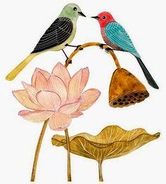 Geninne D. Zlatkis http://www.mbfestudio.com/2014/04/geninne-d-zlatkis-hada-de-los-pajaros.html #illustration #birds #art