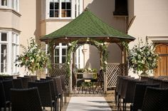 Silchester House outdoor ceremony area
