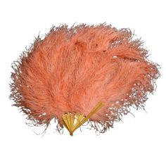1915 orange feather fan #myfairlady #loverly #1915